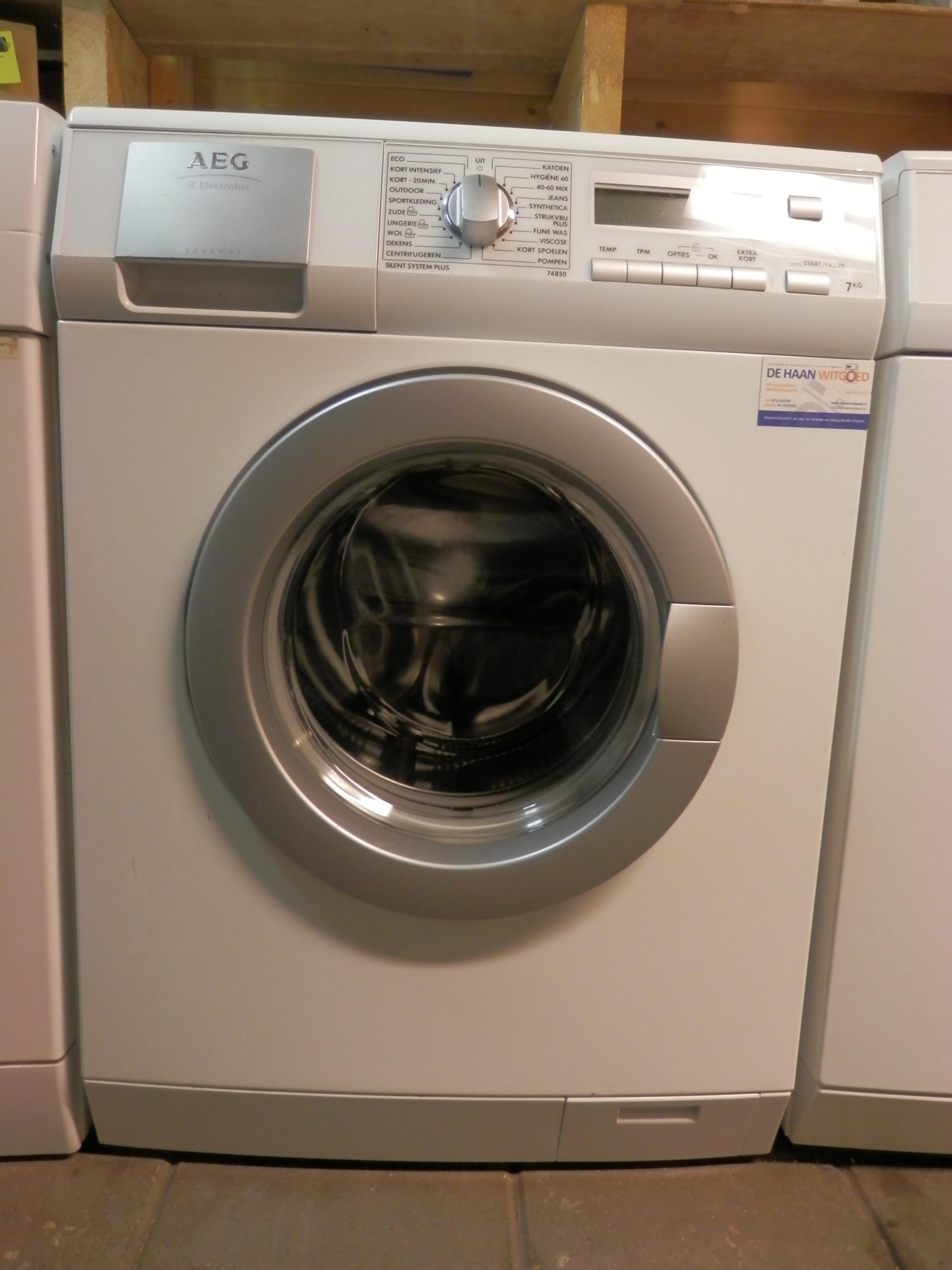 tweedehands aeg electrolux lavamat 74850 tweedehands wasmachines de haan witgoed friesland. Black Bedroom Furniture Sets. Home Design Ideas